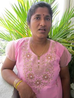 Ananthy Sasitharan, wife of Sinnaththurai Sasitharan alias Ezhilan   Image by: Dushiyanthini Kanagasabapathipillai