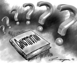Constitution. Illustration: Ratna Sagar Shrestha.THT